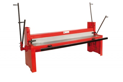 sheet metal shear TBS 2000* XL